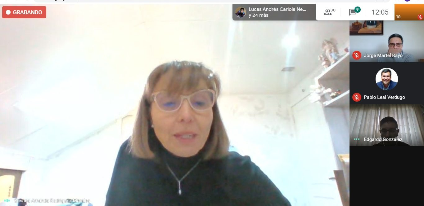 Susana Rodríguez, docente de Educación y coordinadora de estudiantes en situación de discapacidad en la ULagos